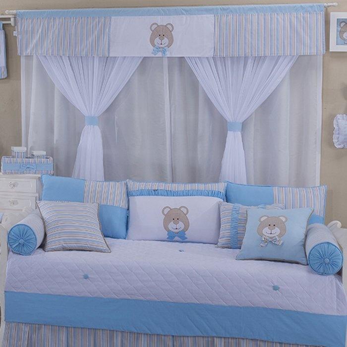 46d64a393 Cortina Urso Baby Azul | Leticia Enxovais - Leticia Enxovais